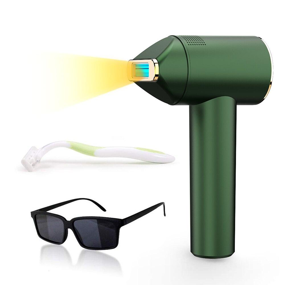 Flashes Laser Depilação Aparelho Casa Ajustável Handheld Micro Atual Beleza Corpo Facial Permanente Depilador 500000 Ipl
