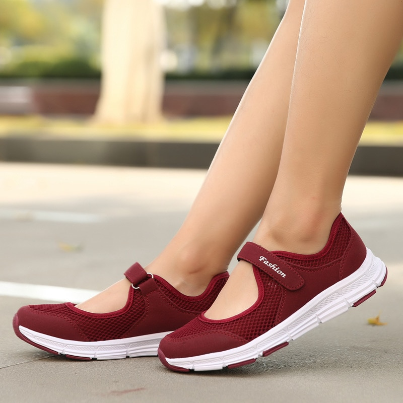 Women Ladies Summer Fashion Breathable Mesh Basket Loafers Slip On Boat Flats Walking Tenis Casual Female Womens Sneakers Shoes fashion women sneakers casual shoes female mesh summer shoes breathable trainers ladies basket femme tenis feminino