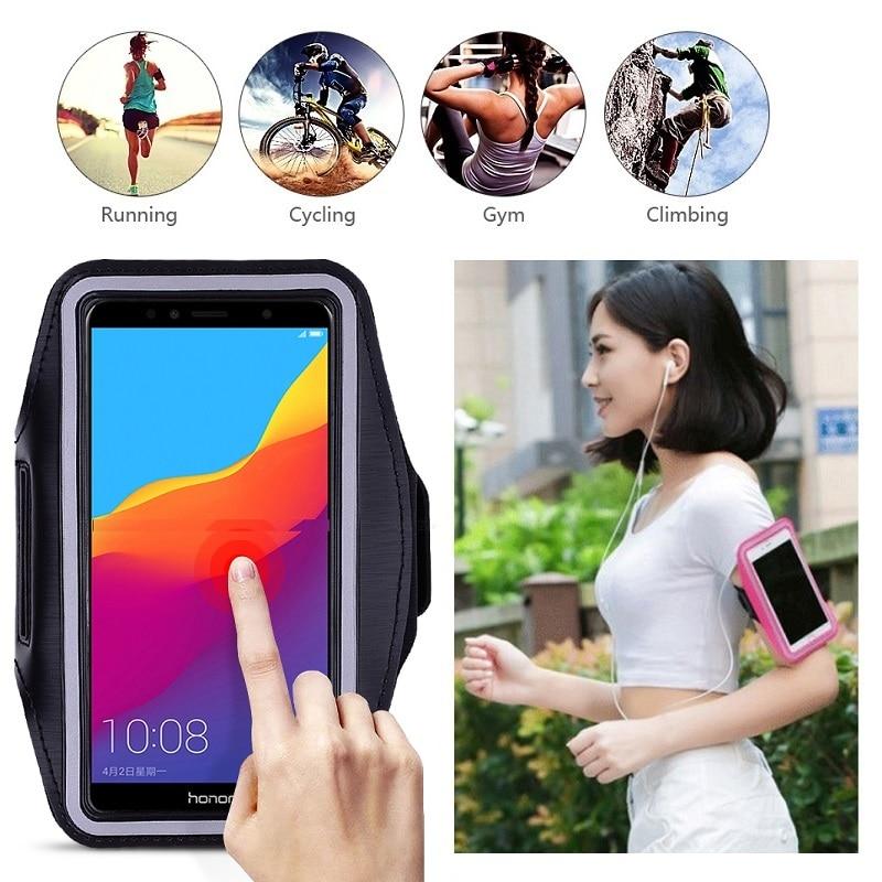 Für Huawei Honor 9X 8X 7X 6X 5X 8A 7A 6A 5A 8C 7C 6C 5C 4C Pro Tasche Fall auf Hand für Telefon Halter Gürtel für Laufsport Fall Handytasche    -