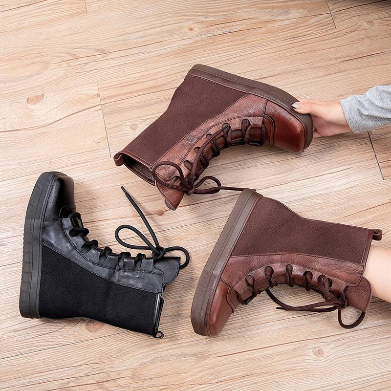 جديد أحذية النساء نمط أحذية نسائية للحفلات موضة 2021 أحذية الشتاء تنفس أحذية غير رسمية