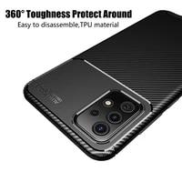 for samsung galaxy a72 5g case cover soft silicone tpu anti knock bumper matte phone back cover for samsung galaxy a72 5g case