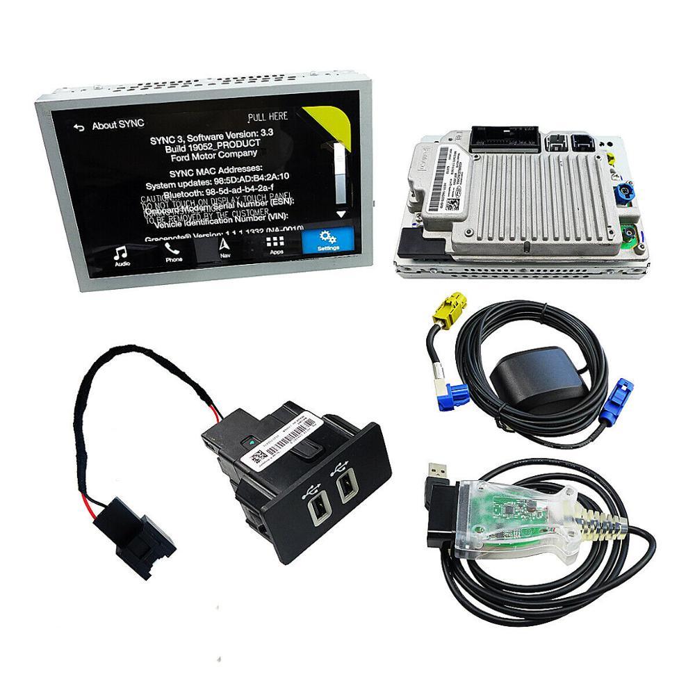 Sincronização de fábrica 2 para sincronizar 3 kit de atualização sync3 apim módulo carplay apto para ford