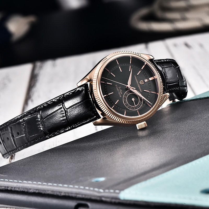 PAGANI DESIGN luxury fashion brand relogio masculino quartz watch sapphire stainless steel 200M waterproof Japanese NH65 calenda enlarge