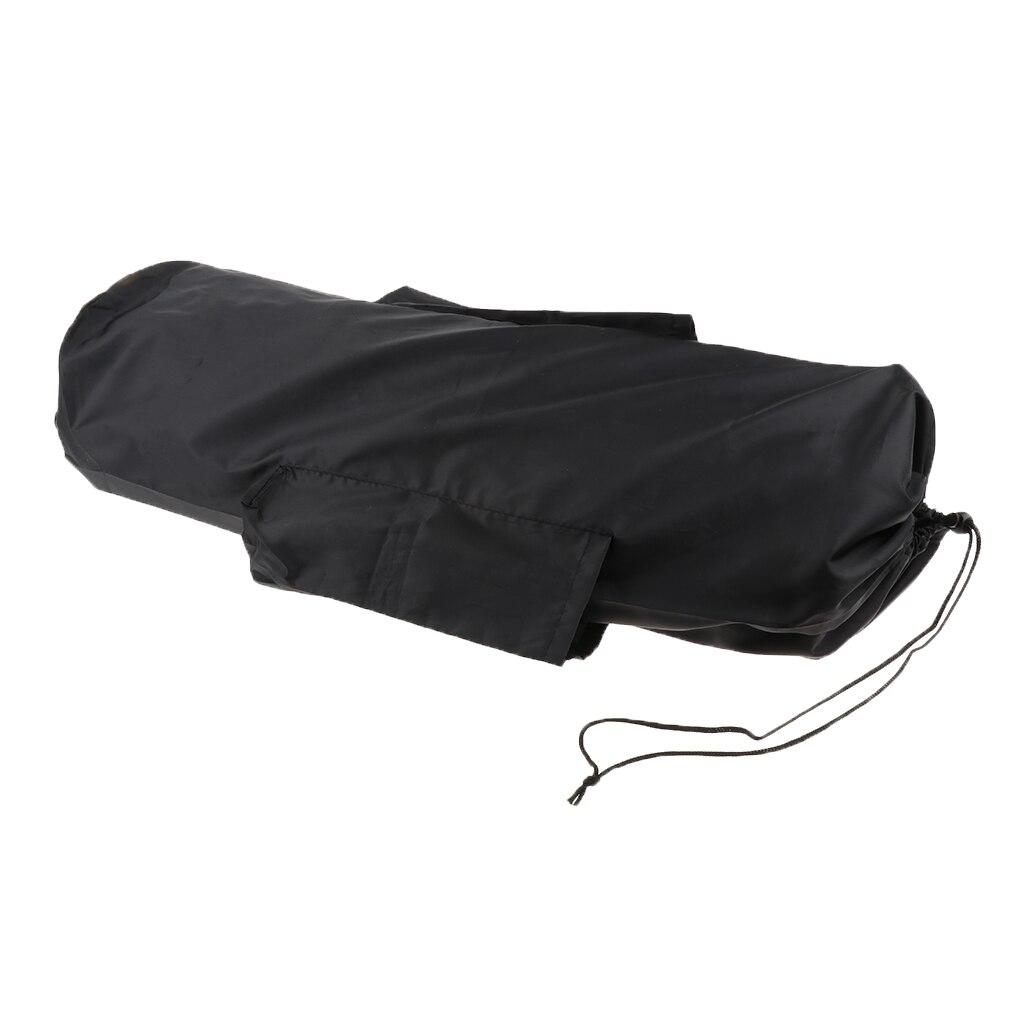 À prova de poeira à prova ddustágua drawstring saco com bolsos laterais & cinta para armazenar dobrável esteira de acampamento esteira de yoga piquenique