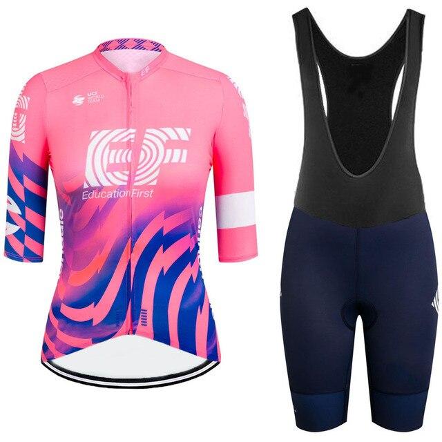 Raphaful-2021 Conjunto de ropa de ciclismo para mujer y camisetas y pantalones...