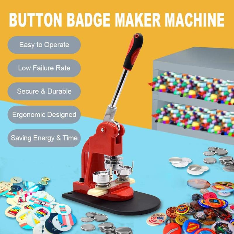 58 Botón de insignia MM fabricante de máquina de Prensa de golpe...