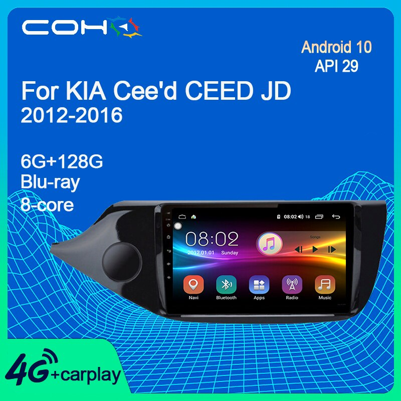 COHO For KIA Cee'd CEED JD 2012-2016 Car Radio Multimedia Video Player Audio Navigation GPS Automoti