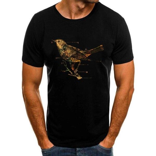 Миграционные футболки, топы, хлопковые футболки, мужские футболки с коротким рукавом