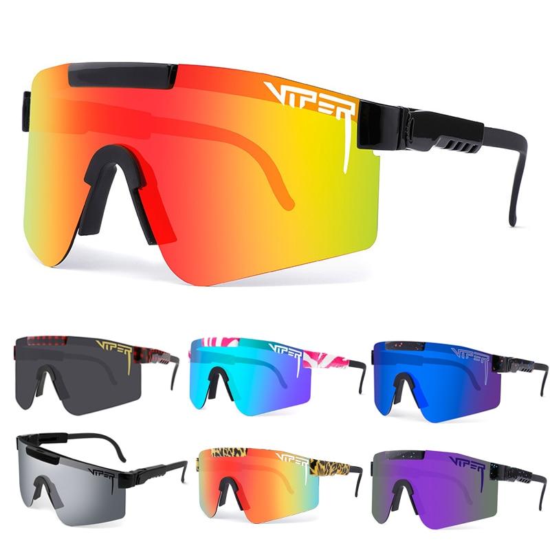 Original Pit Viper Cycling Glasses TR90 MTB Bicycle Eyewear Windproof Ski Sport Polarized UV400 Sunglasses For Men/Woman