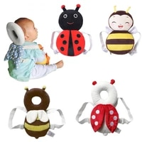 new brand cute baby infant toddler newborn head back protector safety pad harness headgear cartoon baby head protection pad