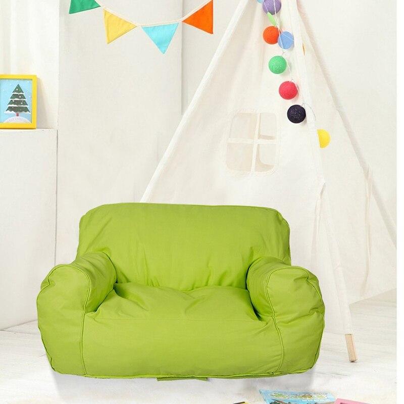 Conforto auto-rebote esponja sofá duplo cadeira cobre criança assento espreguiçadeira saco de feijão crianças & adolescentes amor crianças sofá cadeira