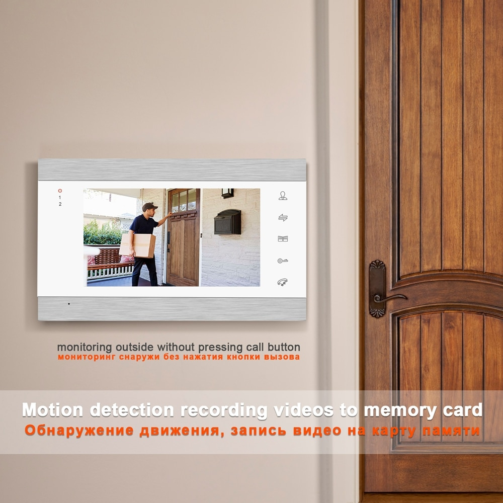 Video Doorbell Door Phone   Intercom  Camera Intercom Wireless Video Door Phone Wifi  Intercom System Two Way Wireless Intercom enlarge