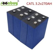 CATL 3.2v270AH 배터리 깊은 사이클 프리즘 3C LiFePO4 충전식 배터리 diy RV 태양 EV 해양 EU 미국 세금 부가가치세 무료