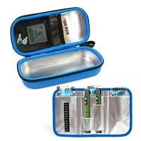 medical cooler travel pocket packs pouch eva insulin pen case waterproof cooling storage bag diabetes people drug freezer box
