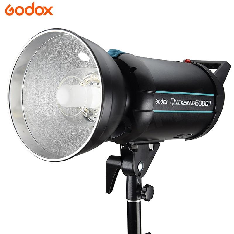 Godox Quicker 600DII 600W High-speed Flash Studio Strobe Photography GN76 Speedlite Built-in 2.4 X System for All Cameras