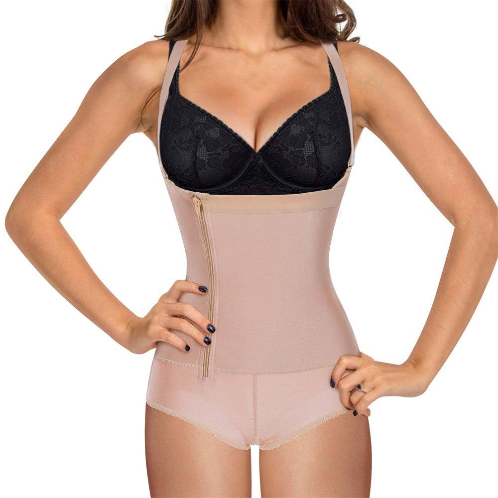كامل محدد شكل الجسم الكولومبي مخفض المشدات مدرب خصر مشد ملابس داخلية ملابس داخلية للتنحيل بعد شفط الدهون