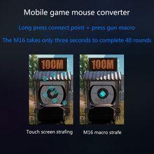 Flydigi Q1 Мобильная игровая клавиатура мышь конвертер беспроводное соединение Bluetooth Y5LC