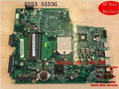 Материнская плата для ноутбука Acer Aspire 5553 5553G DA0ZR8MB8E0 MB.PU906.001 Рабочая