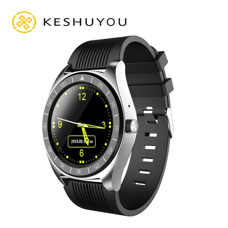 NEW Round Calls FT SIM Smart Watch Men Women Waterproof Smartwatch Heart Rate MP3 Player For amazfit
