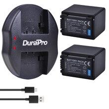 2X3900 mAh VW-VBT380 VW VBT380 VBT190 batterie + chargeur USB pour Panasonic HC-VXF999, HC-VXF990, HC-VX870, HC-VX989, HC-WXF1G, VXF1GK,