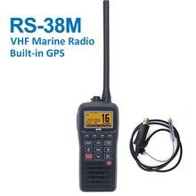 Новейшая морская радиостанция диапазона VHF, встроенная GPS 156,025 163,275 МГц, поплавок, трансивер, Tri watch IP67 водонепроницаемая рация