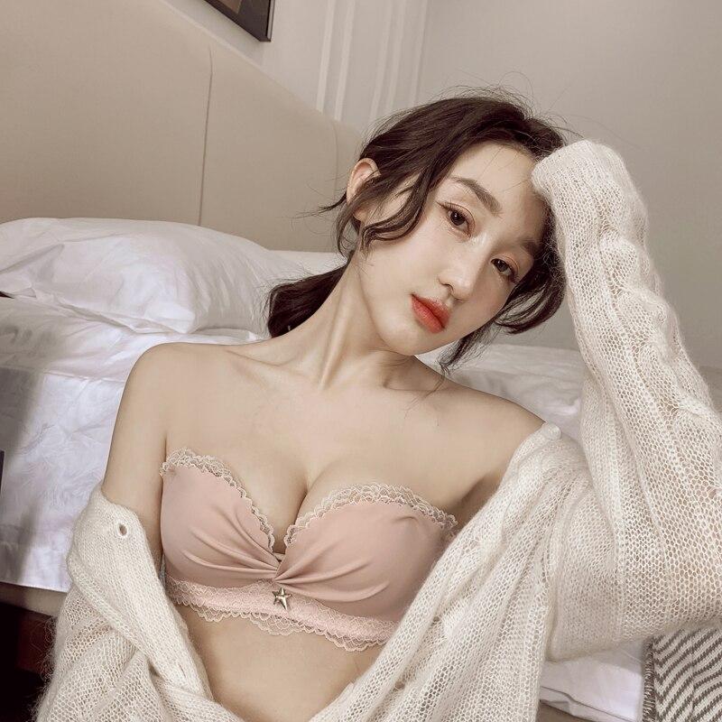 Милый-комплект-с-бюстгальтером-для-девушек-японское-милое-кружевное-нижнее-белье-без-бретелек-с-открытыми-плечами-и-нескользящей-небольшо