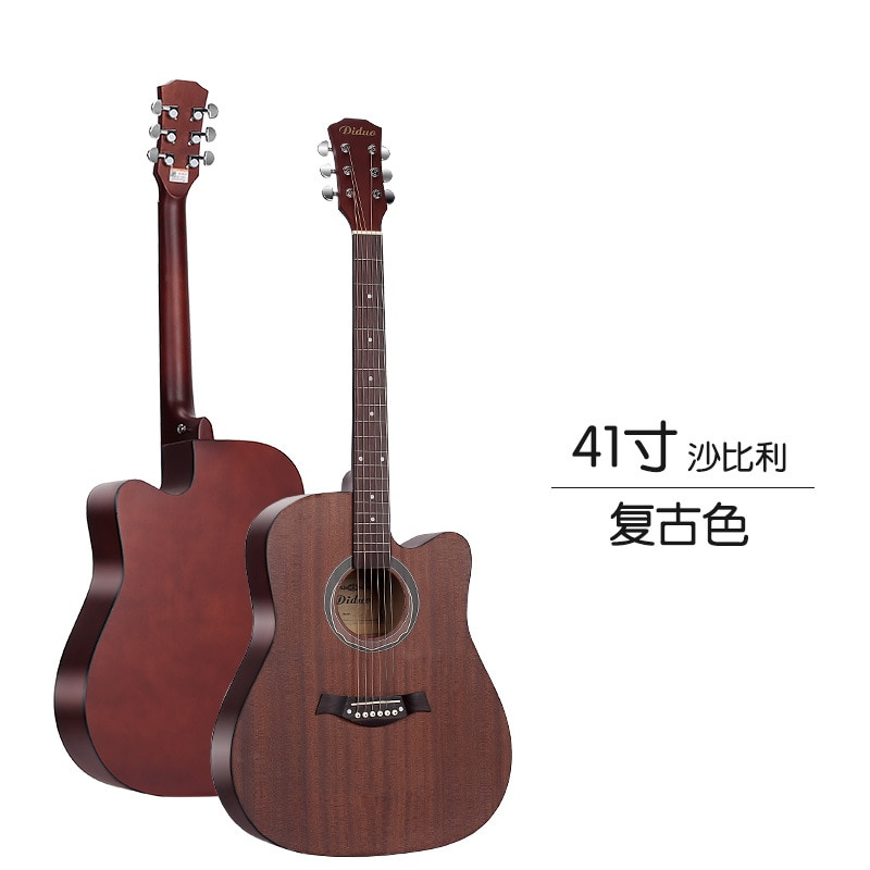 Accoustic Guitar Playing Picea Asperata Neck 20 Fret High Quality Guitar Hollow Body Guitarra Acustica Playing Tools EH50G enlarge