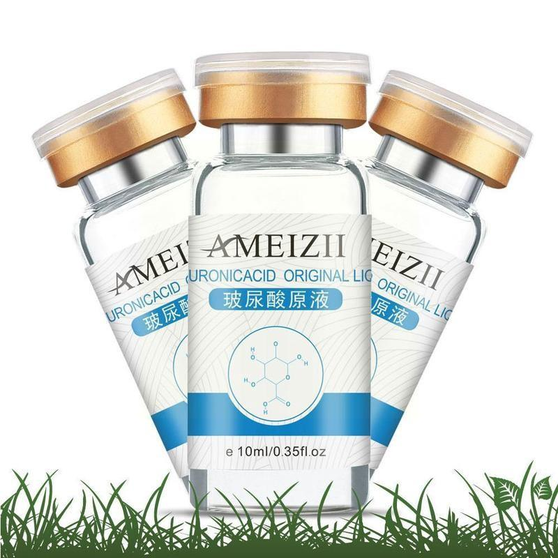 10ml Pure Hyaluronic Acid Face Serum Moisturizing Acne Shrink Repair Care Anti Whitening Pore Essence Skin Anti-aging E1b1 недорого