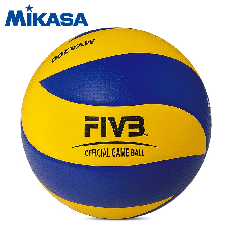 Original Mikasa Volleyball MVA200 FIVB Official Game Ball for the 2008 Beijing Olympics Games Official Volleyball