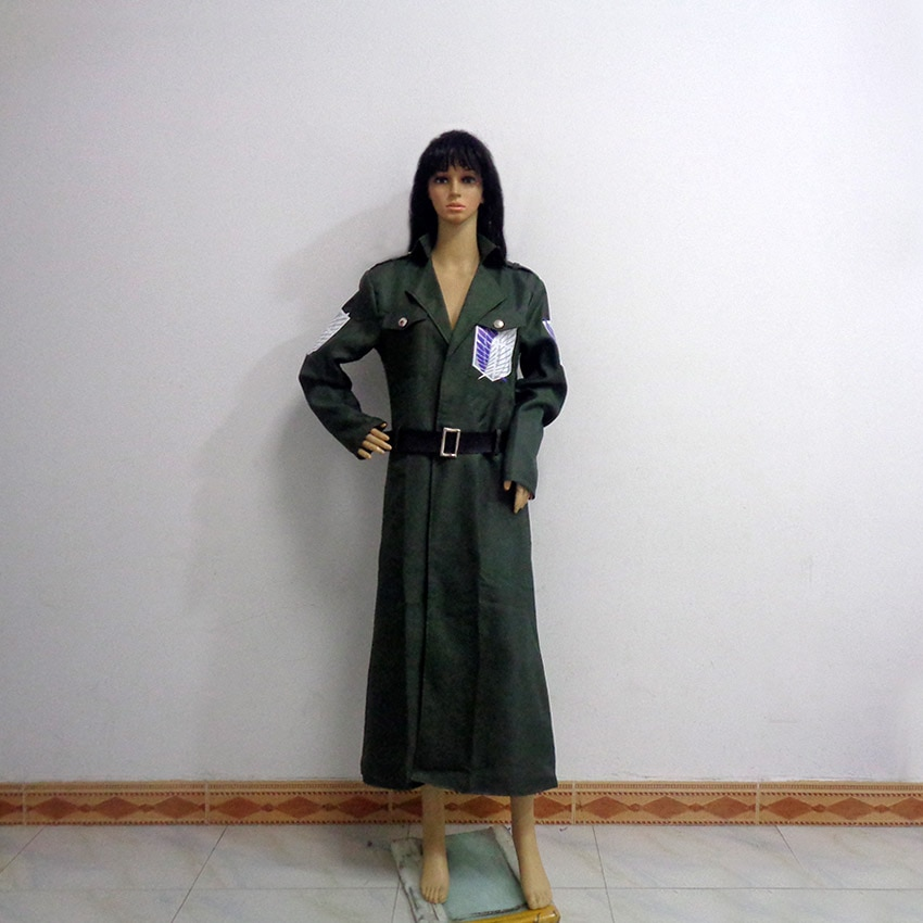 Attack on Titan Scout Regiment Coat Cos Party Halloween Uniform Cosplay Costume Customize Any Size
