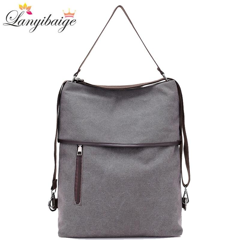 Designer Canvas Handbags Leisure Crossbody Bags for Women 2020 New Handbags Women Sac A Main Multifunction Lady Shoulder Bags