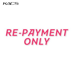 THIS LISTING ENABLES YOU TO RE-PAYMENT THE REFUNDED ITEM THAT YOU FINALLY RECEIVE. NOT FOR PURCHASING PRODUCTS,THANK YOU.