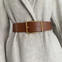 waistband for women simple buckle wide belts daily casual waist straps trendy wild waist belts clothes accessories waistbands