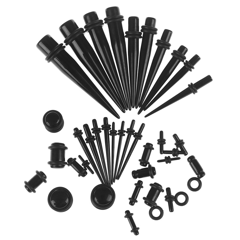 36 шт. 1,6-10 мм ушные туннели удлинитель стержень расширитель набор ювелирные изделия с расширителем для тела