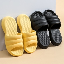 Women Men Summer Fashion Slippers Slide Sandals Beach High Heels Shower Thick Soft Sole Ladies Boys