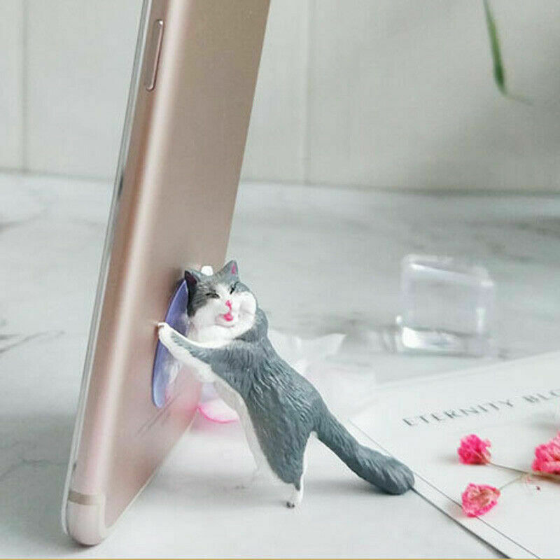 1pcs Cute Cat Cell Phone Support Holder For Phone Desktop Stand For Ipad For Samsung For IPhone Mobi
