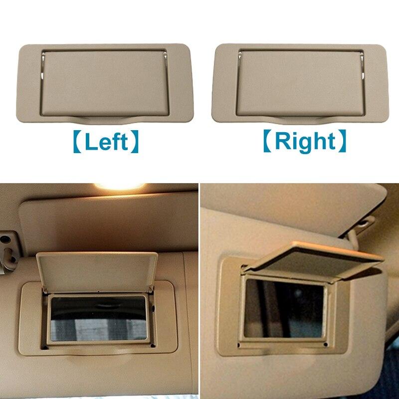 Car Sun Shade Visor Interior Makeup Mirror Cosmetic Mirror Cover For Mercedes Benz ML/GL/R Class W164 W251 ML350 R300 2005-2011