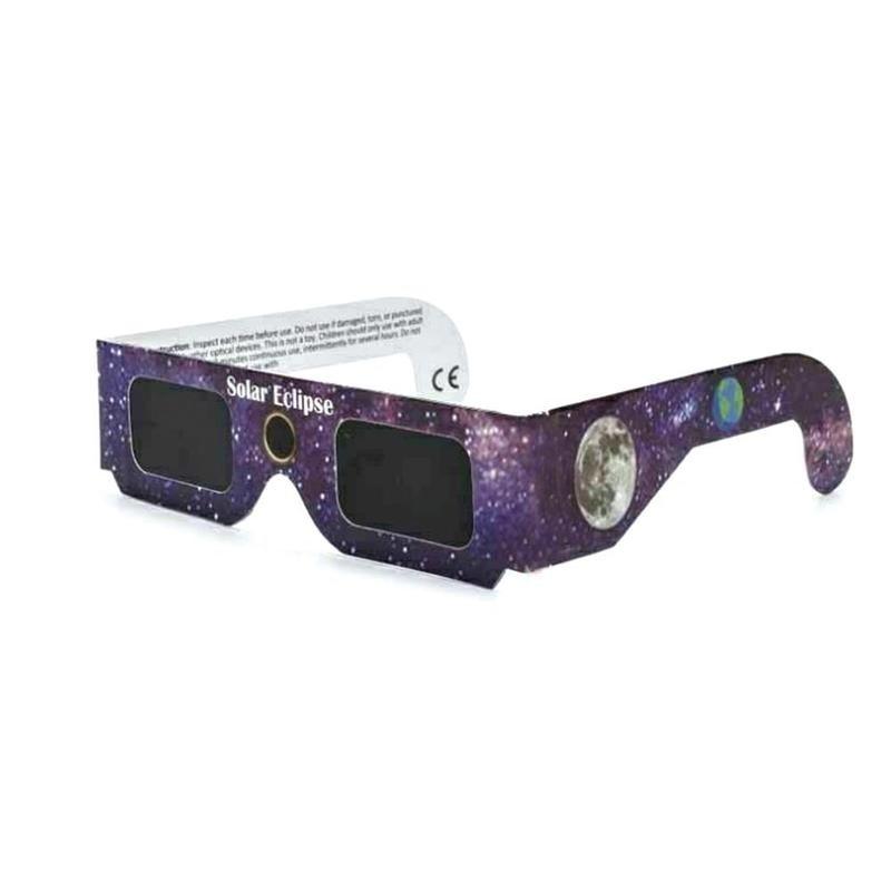 1 шт. бумажные солнечные затмение очки случайный цвет полное солнечное затмение анти-УФ солнечные уличные очки затмение очки наблюдение