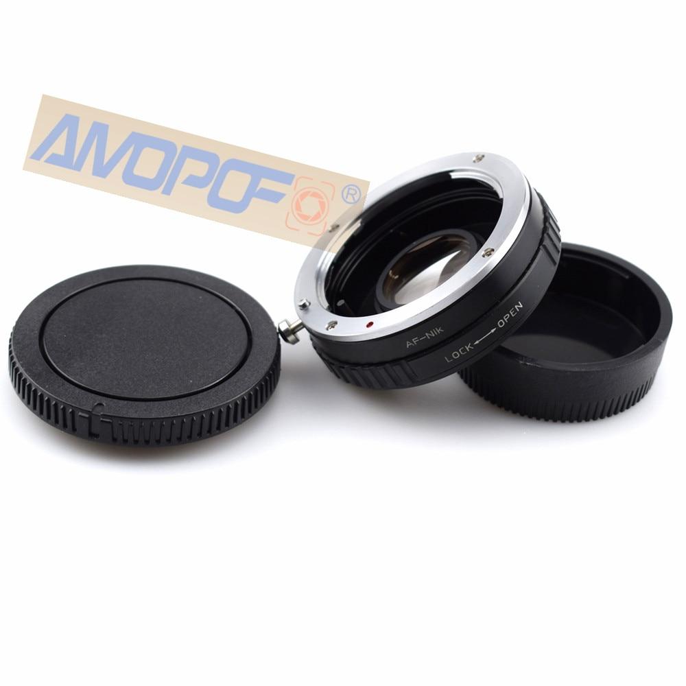 Адаптер оптического стекла AF для Nikon, Sony Alpha AF и для объектива Minolta MA для Nikon F D750 D810 D3200. Ленточная оптика