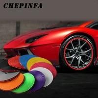 8m car wheel strip wheel rim sticker chrome wheel decoration auto tire rims plated protection decoration exterior accessories
