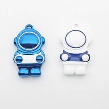 Neue Astronaut Usb Flash Drive Reale Kapazität USB 2,0 high-speed 4GB 8GB 16GB 32GB 64GB 128GB 256GB Stift Stick Drucken Logo