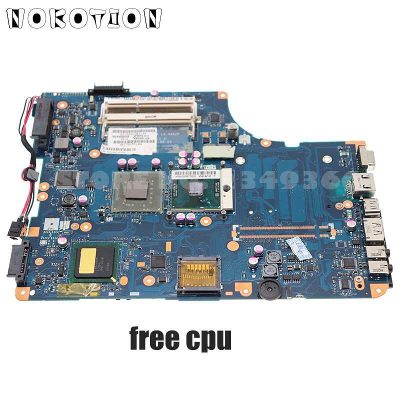 NOKOTION K000086440 KSWAA LA-4982P لتوشيبا L500 L505 DDR3 15.6 بوصة اللوحة المحمول DDR3 شحن وحدة المعالجة المركزية