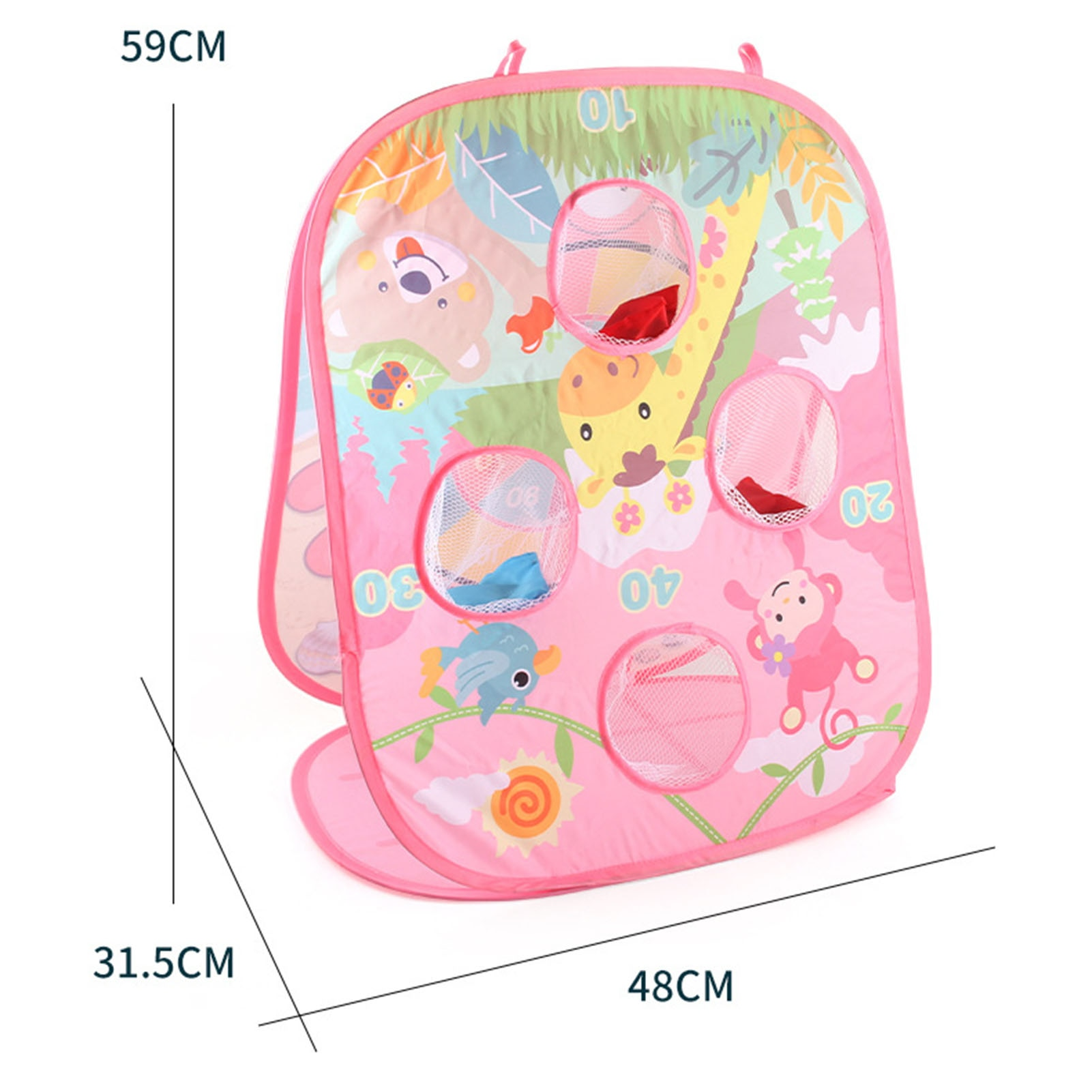Kids Bean Bag Outdoor Throwing Game Dart Portable Board Game Toy Set Sandbag Outdoor Beach Game Toys For Children  - buy with discount