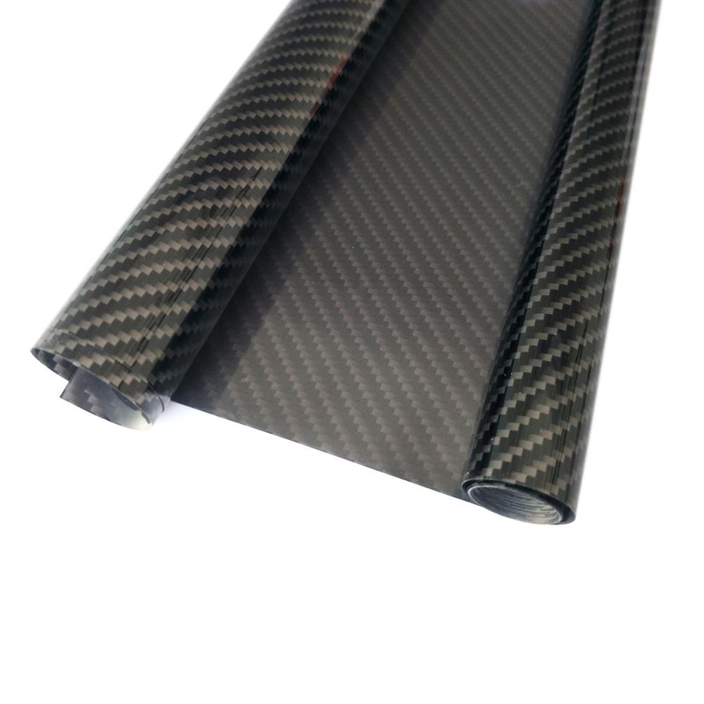 Folha de cobertura 100*60 cm do rolo do filme do teste padrão da fibra do carbono para o avião modelo de rc