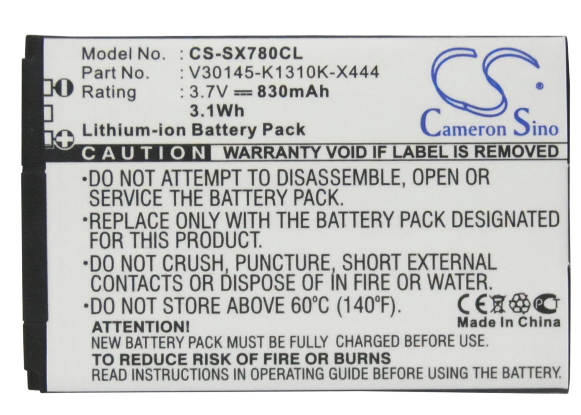 Cameron Sino batería para Siemens Gigaset SL400 SL400A SL400H SL780 SL785 SL788 SL78H X656 OpenStage SL4