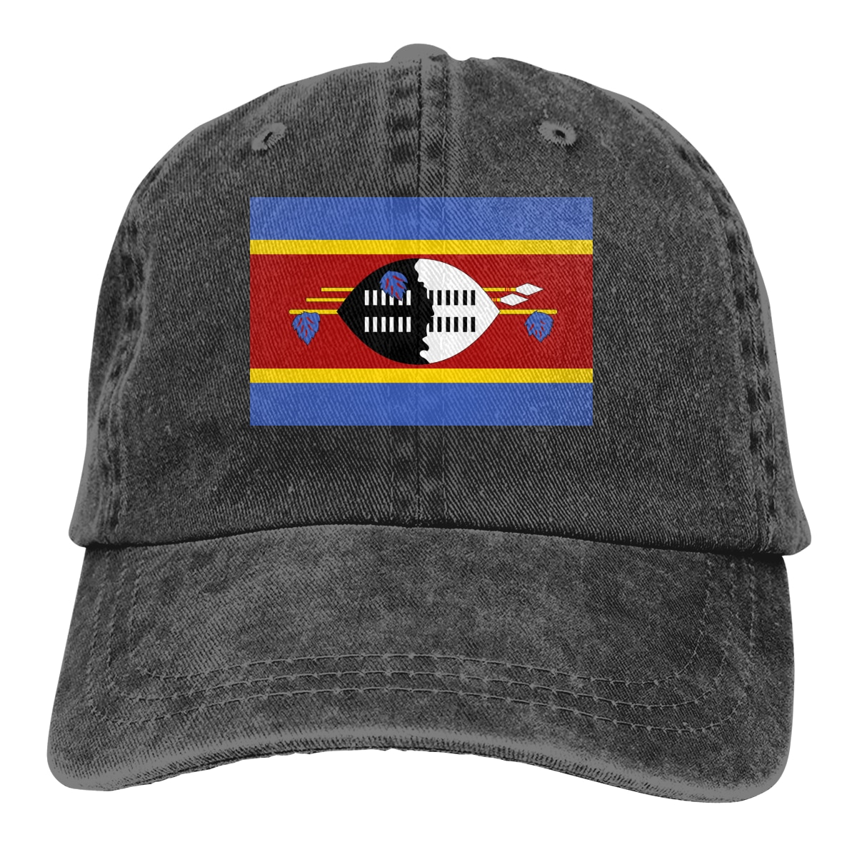 Swaziland flag Cowboy hat