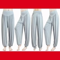 new high waist yoga pants autumn and winter trousers loose and plus sized