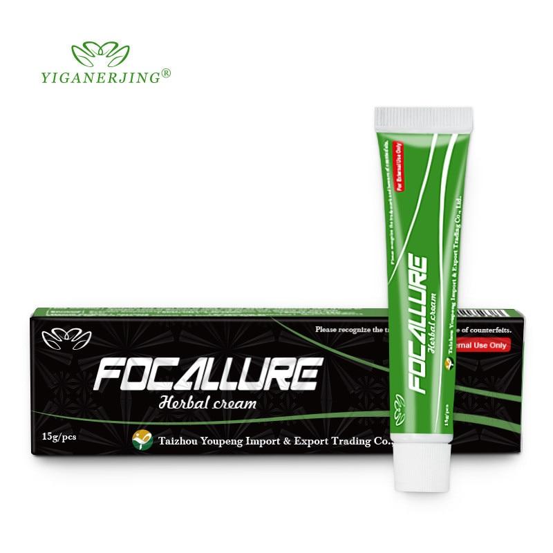 50 piezas YIGANERJING FOCALLURE Cuerpo crema para la Psoriasis Dermatitis Eczematoid Eczema ungüento