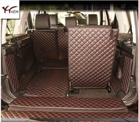 non slip wholy surrounded no ordor special car trunk mats for land roverdiscovery 7seats waterproof boot carpets
