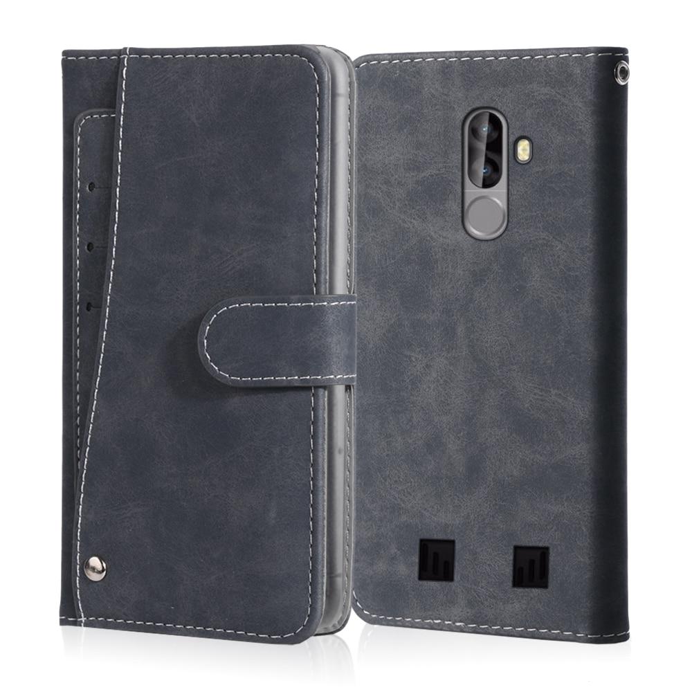Funda Vintage para Blackview BV6000 BV7000 BV8000 BV9000 BV10000 Pro, Funda de cuero tipo billetera con soporte para tarjetas, funda magnética para teléfono